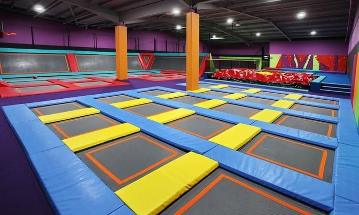 Adrenaline Entertainment Centers For Birthday Parties At Trampoline Park